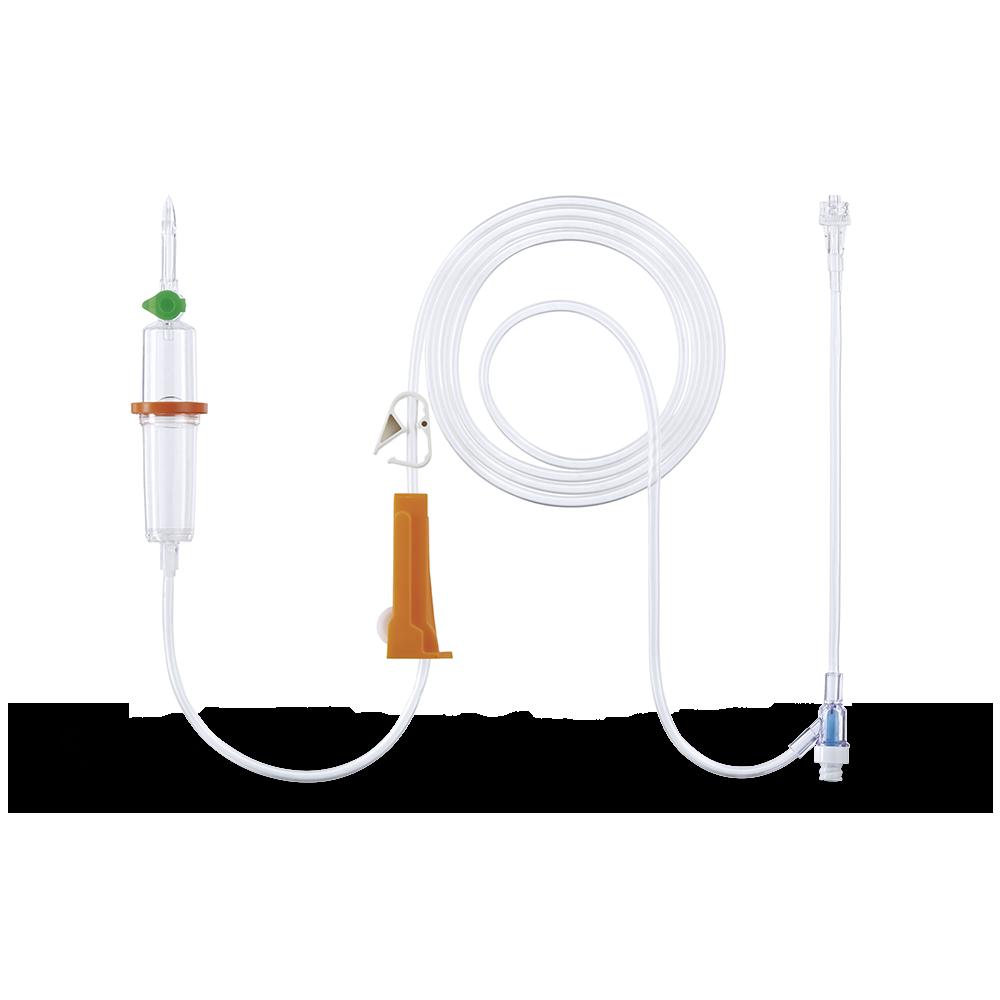 Infudrop matic P K-Nect, 180 cm, Infusionsgerät, Packung â 100 Stück