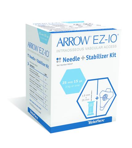 EZ-IO Nadel-SET 15 G blau (25 mm)