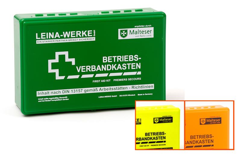 Betriebsverbandkasten - Klein, DIN 13157 in Folientasche