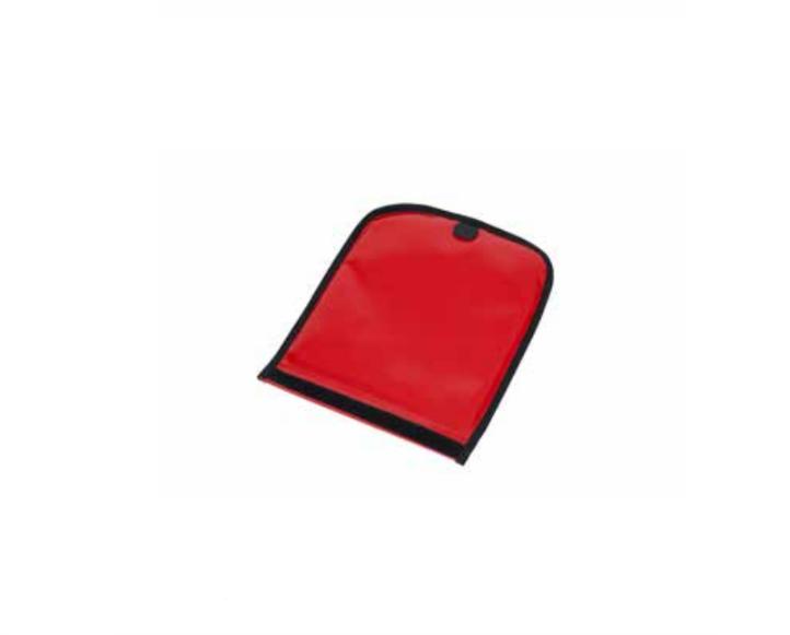 Abdeckpolster für Ampullentableau, rot