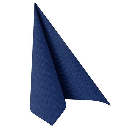 Premium-Servietten 40 cm x 40 cm in dunkelblau