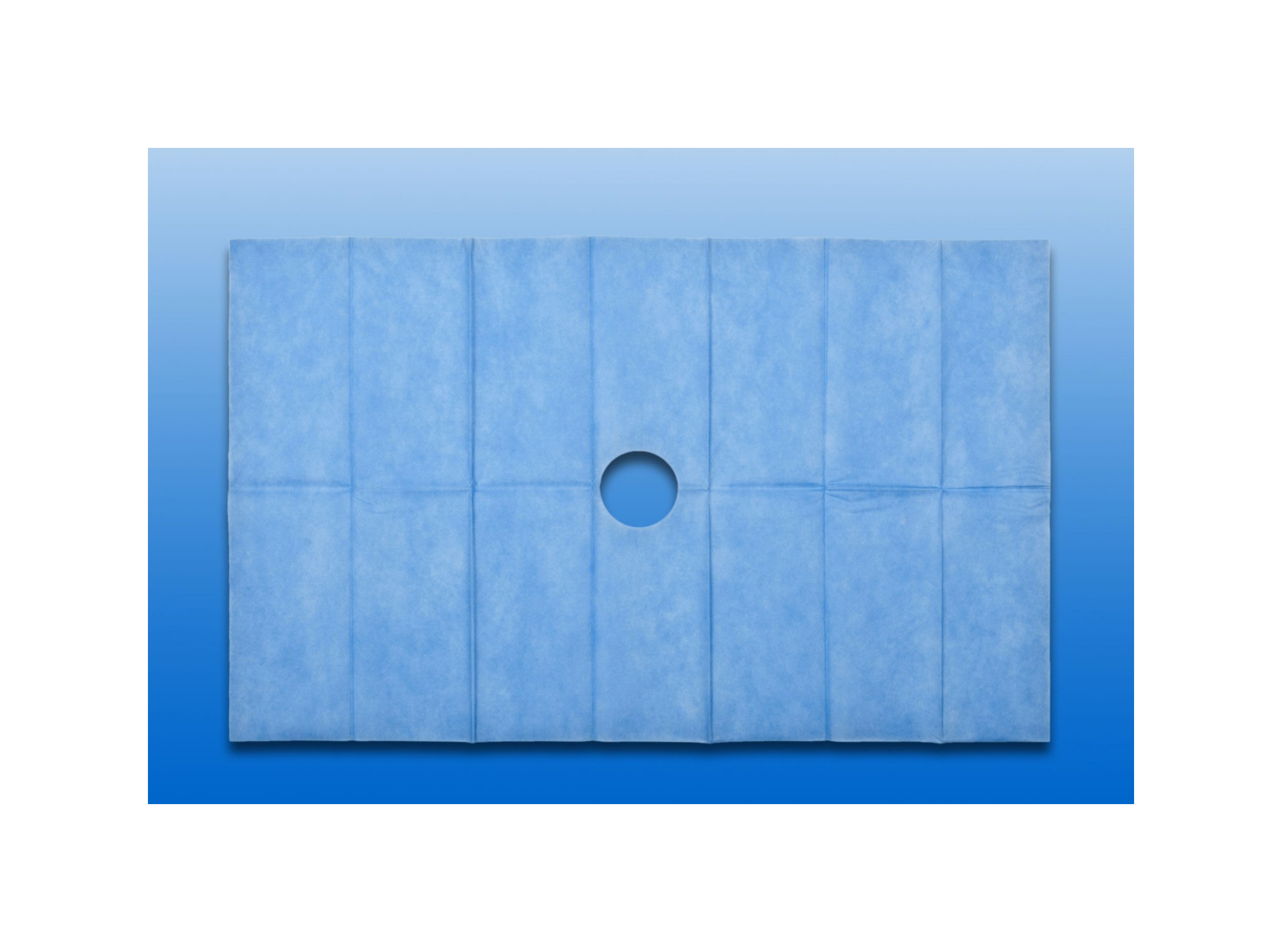NOBADRAPE selbstklebendes Lochtuch, 45 x 75 cm in blau, 1 Stück