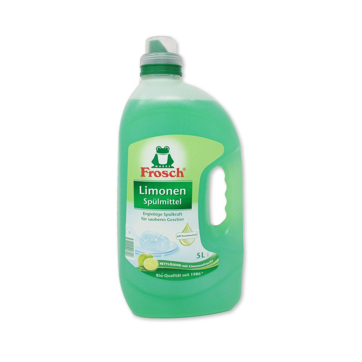 Frosch Spülmittel 5 Liter-Flasche