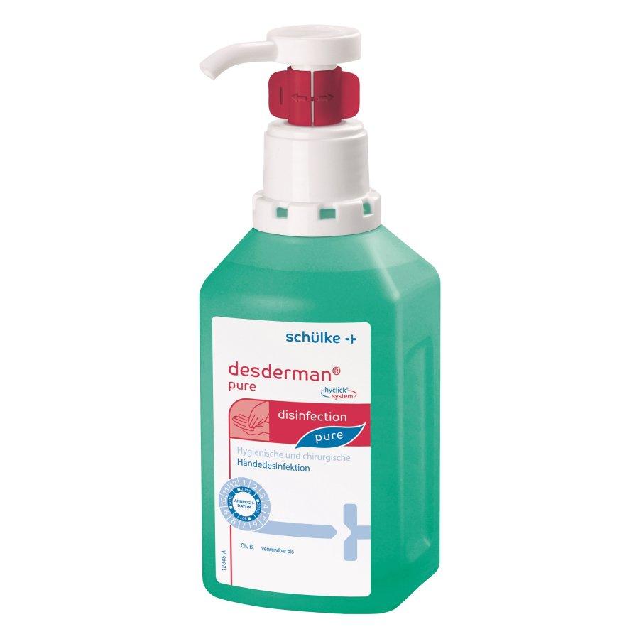 Desderman® pure - hyclick® system Flasche, 1 Liter