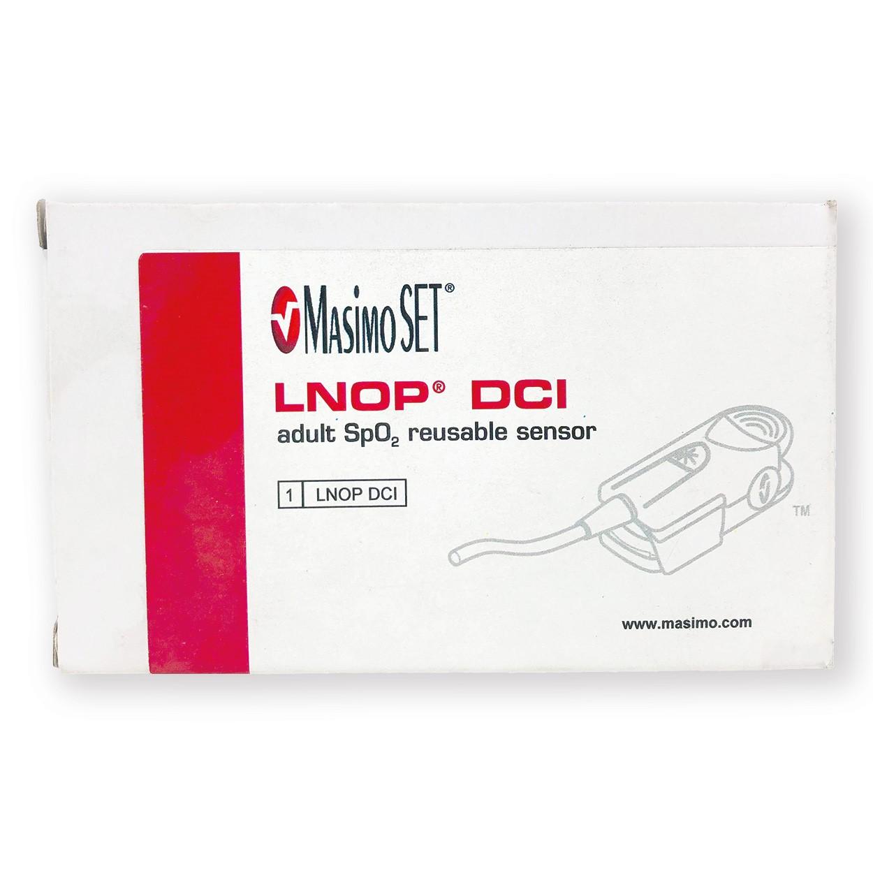 MASIMO LNOP DCI adult SpO2 reusable sensor - 1269