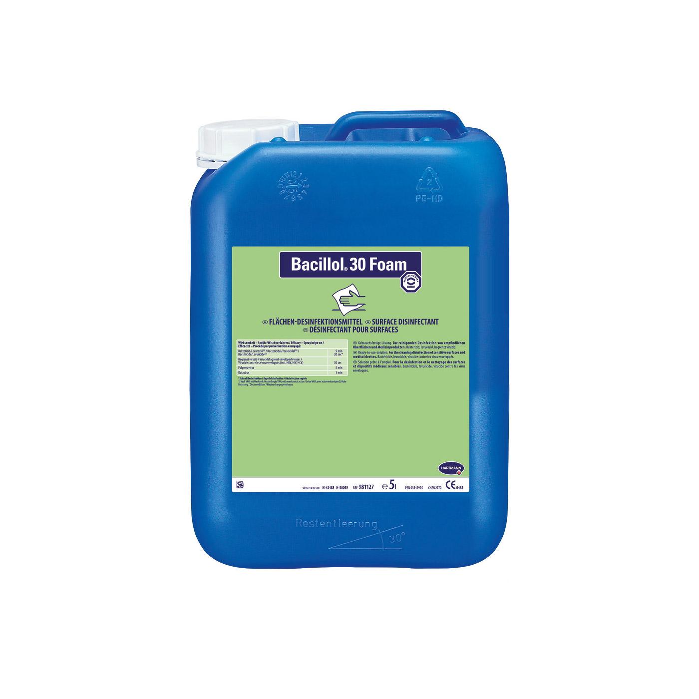 Bacillol® 30 Foam, 5 Liter Kanister