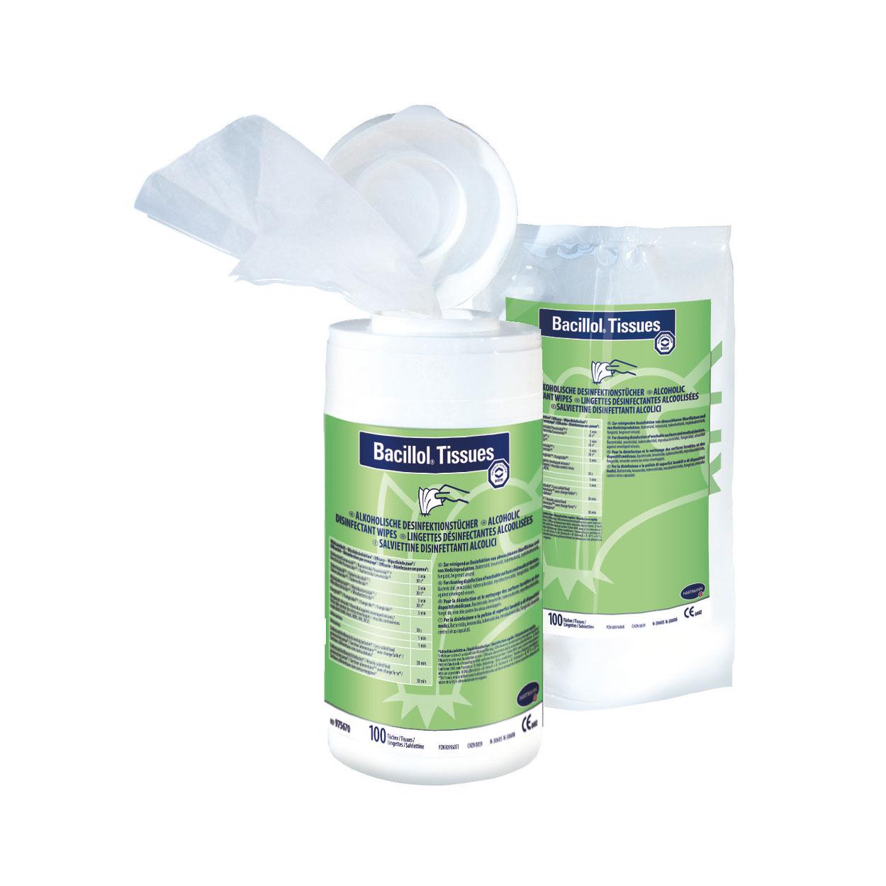 Bacillol® Tissues, Nachfüllbeutel mit 100 Tüchern