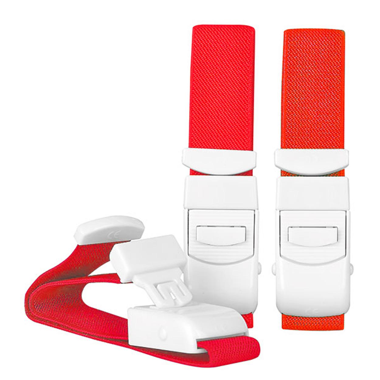 Venenstauer, rot, 40 cm, Einhandbedienung