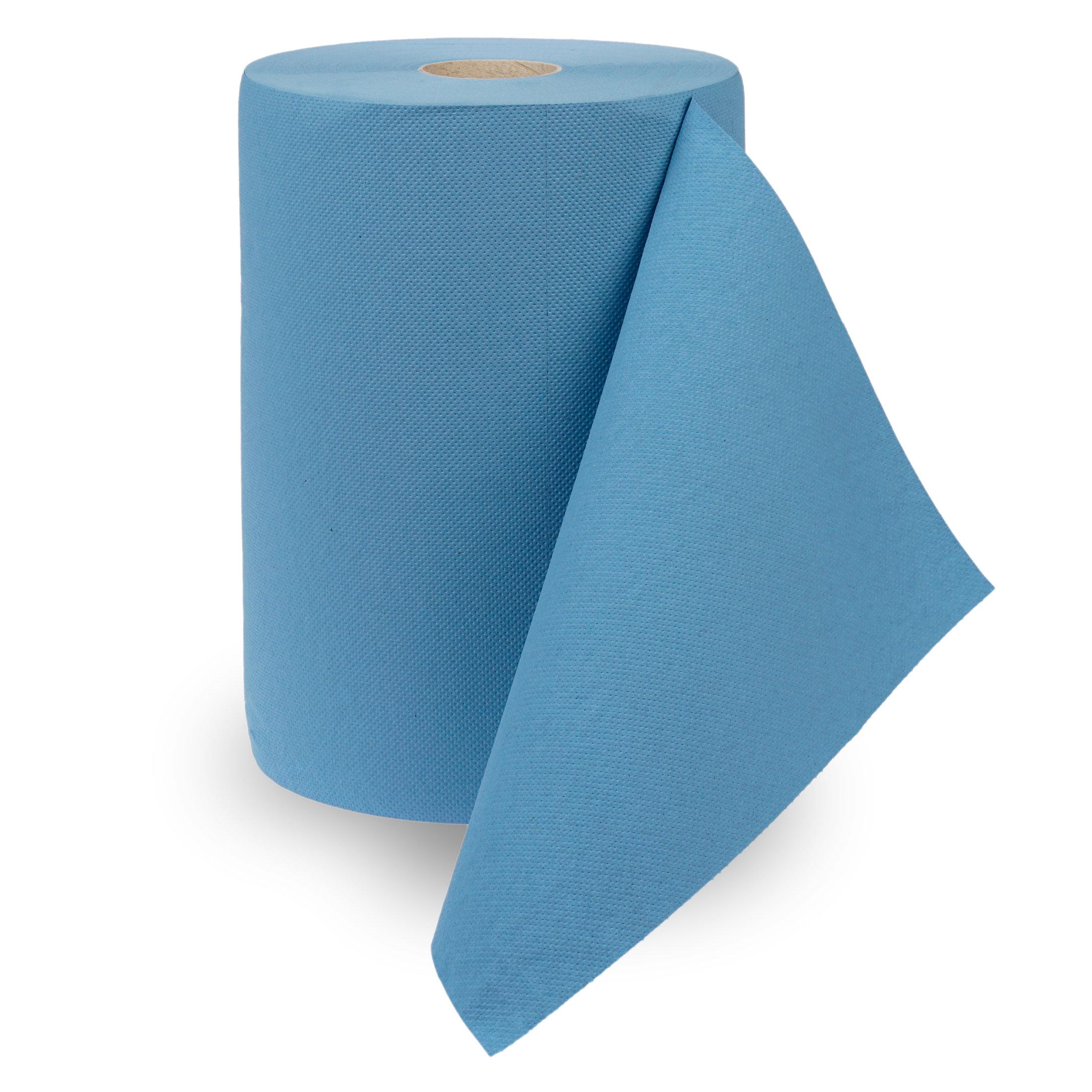 Putztuchrolle Multiclean® Recycling in blau, VE à 2 Rollen