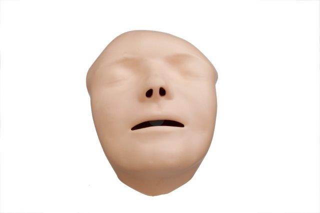 Gesichter (hellhäutig) für Mini Anne Plus, Packung â 5 Stück