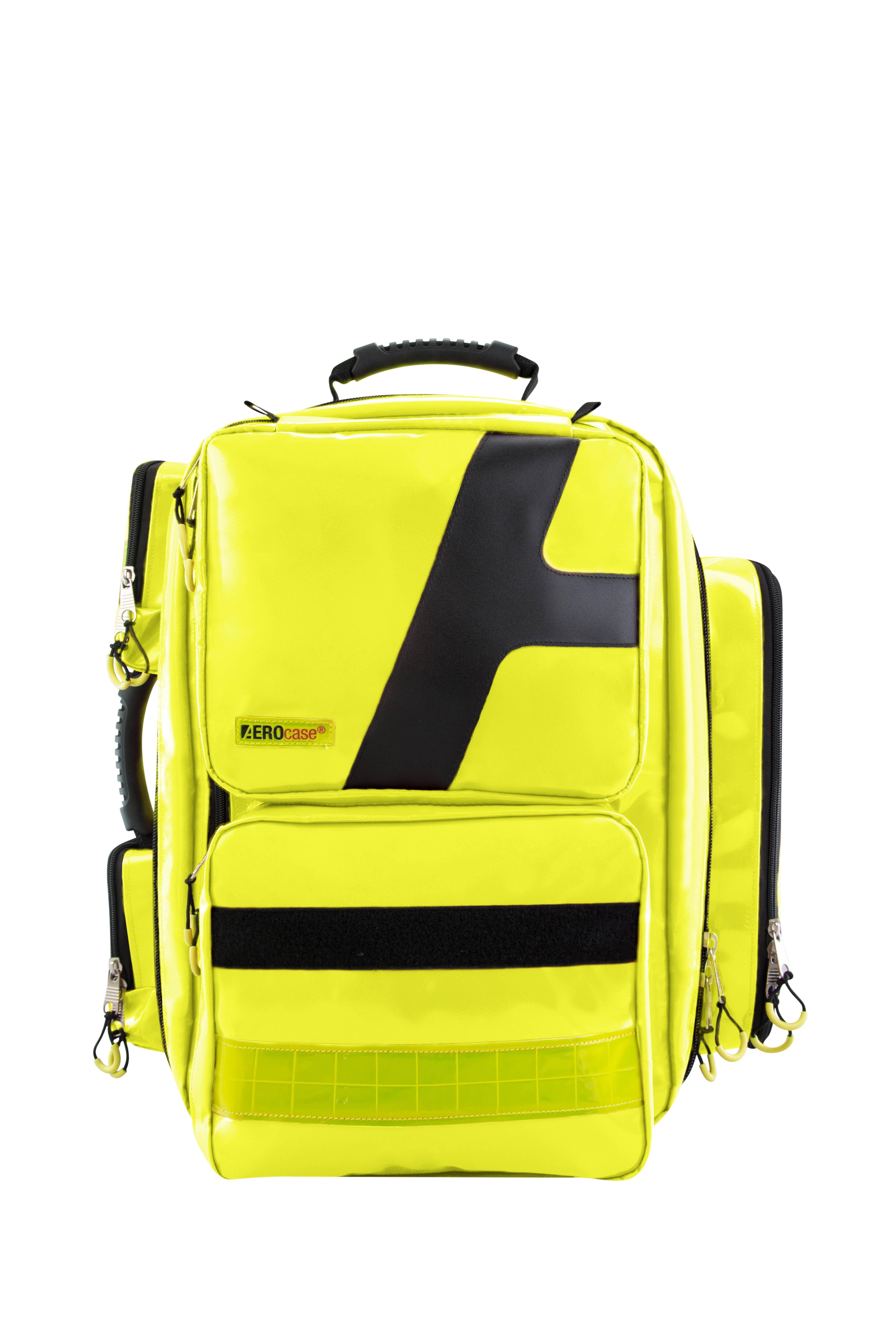 Notfallrucksack Größe XL in gelb