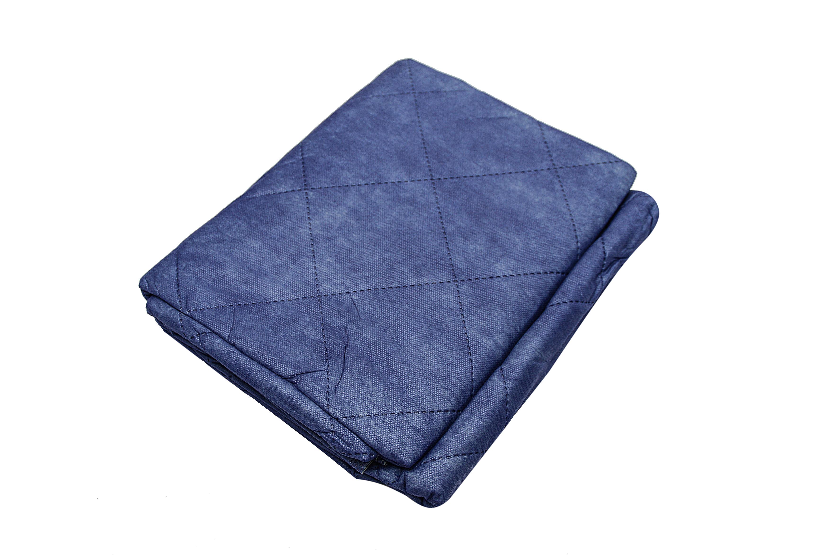 Einmaldecken, Polyester, blau, 190 x 110