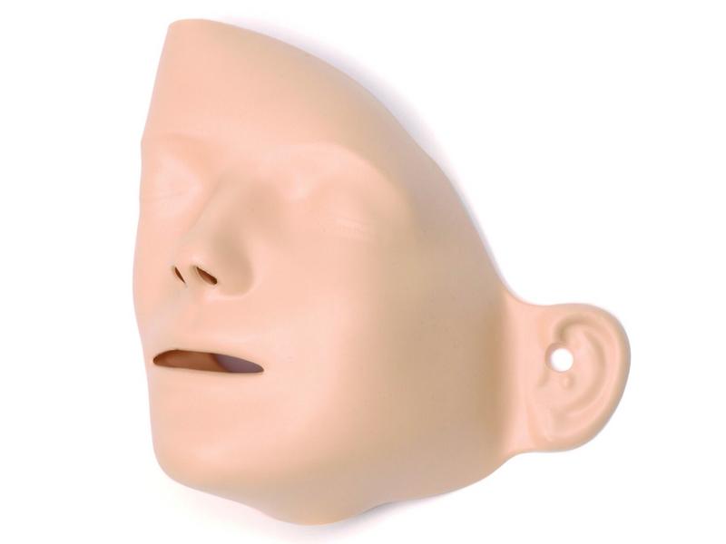 Gesichtsteile, für Resusci Anne / -Modular-Systems und Little Anne