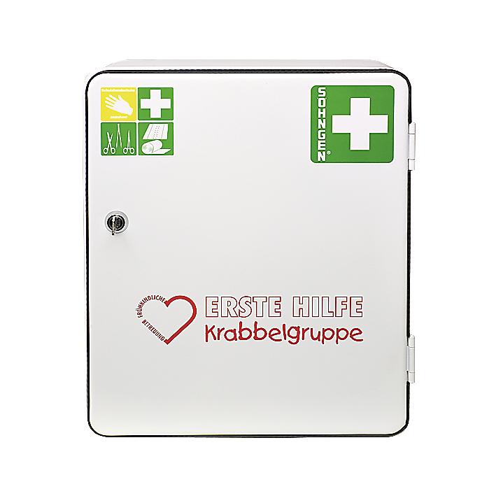 Erste-Hilfe-Verbandschrank 'Krabbelgruppe'