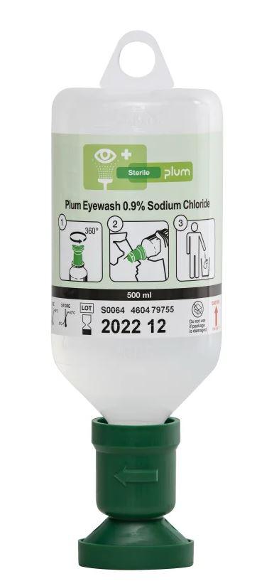 Augenspülflasche mit steriler Natriumchloridlösung 500 ml