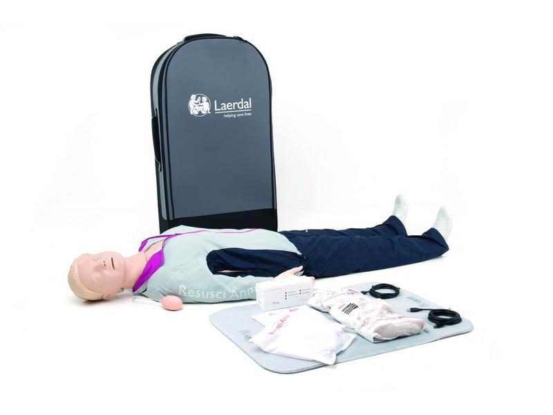 Resusci Anne QCPR - Ganzkörper in Trolley Koffer