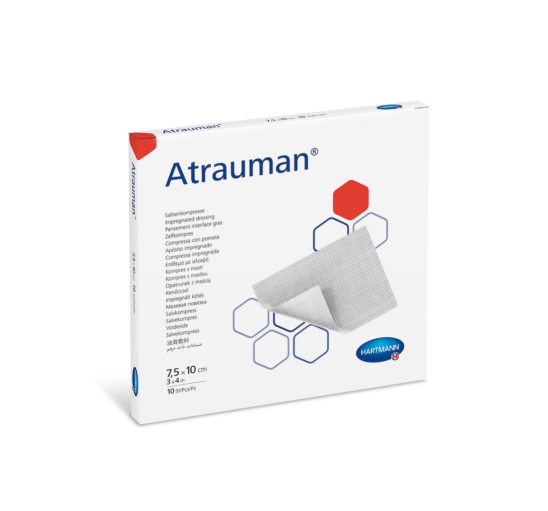 Atrauman® in 7,5 x 10 cm, 1 Faltschachtel à 10 Stück