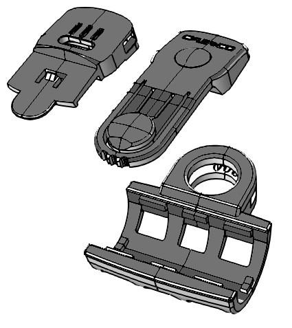 Adapterset Power Light für PF 100, Halterung für Stablampe