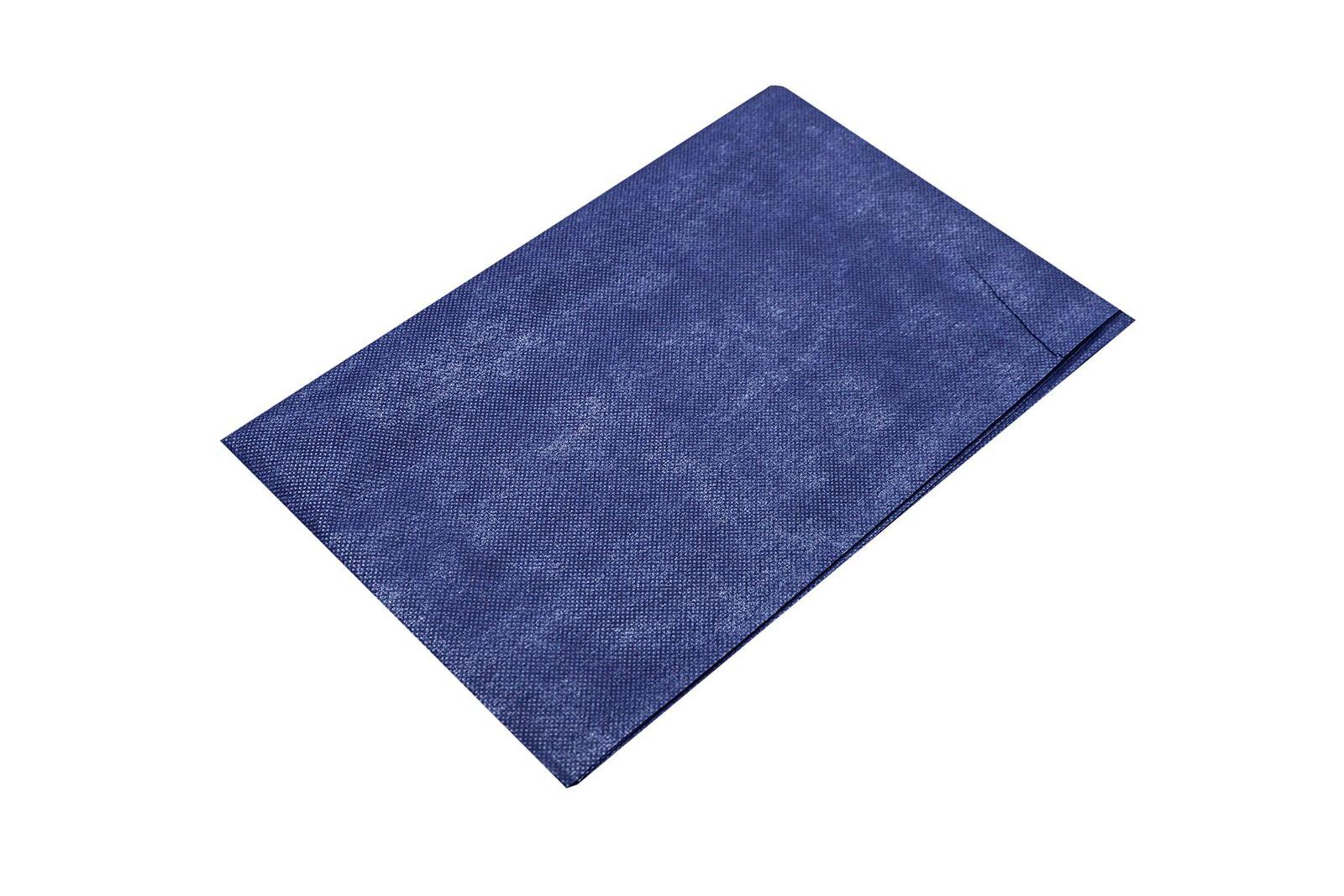 Einmalllaken, blau, 210 x 80 cm