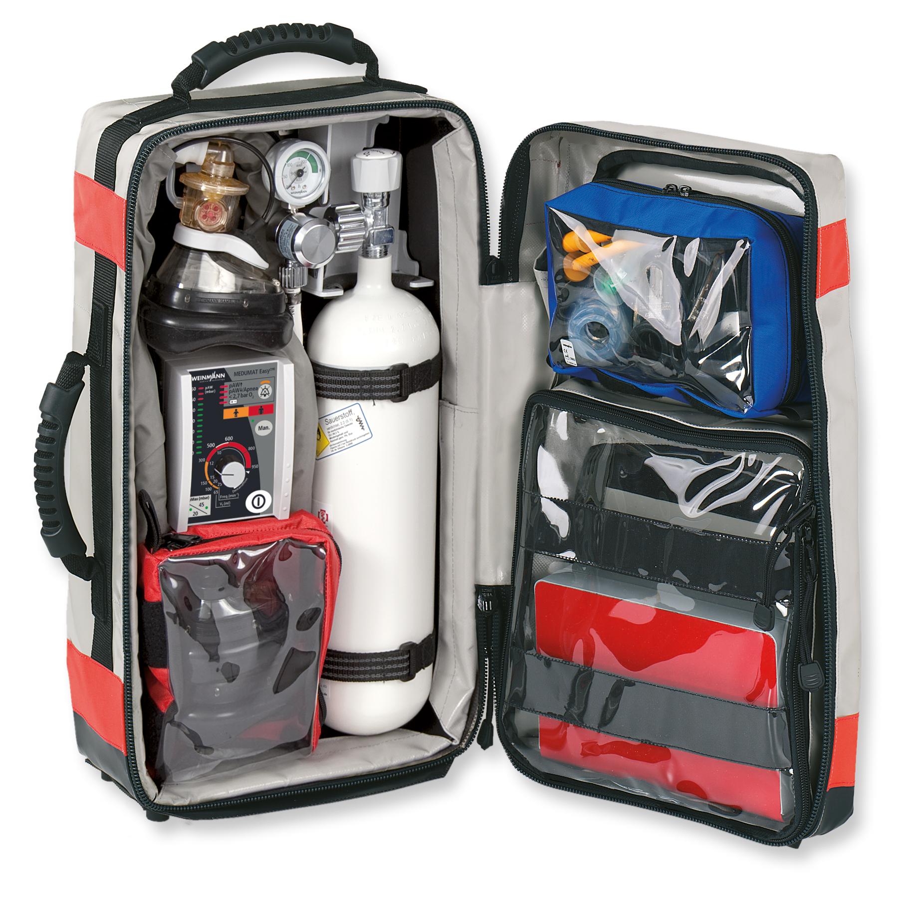 RESCUE-PACK I mit Grundausstattung Atmung  mit MEDUMAT Easy CPR