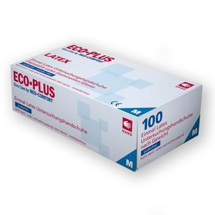 ECO-PLUS Untersuchungshandschuhe - Packung á 100 Stk.