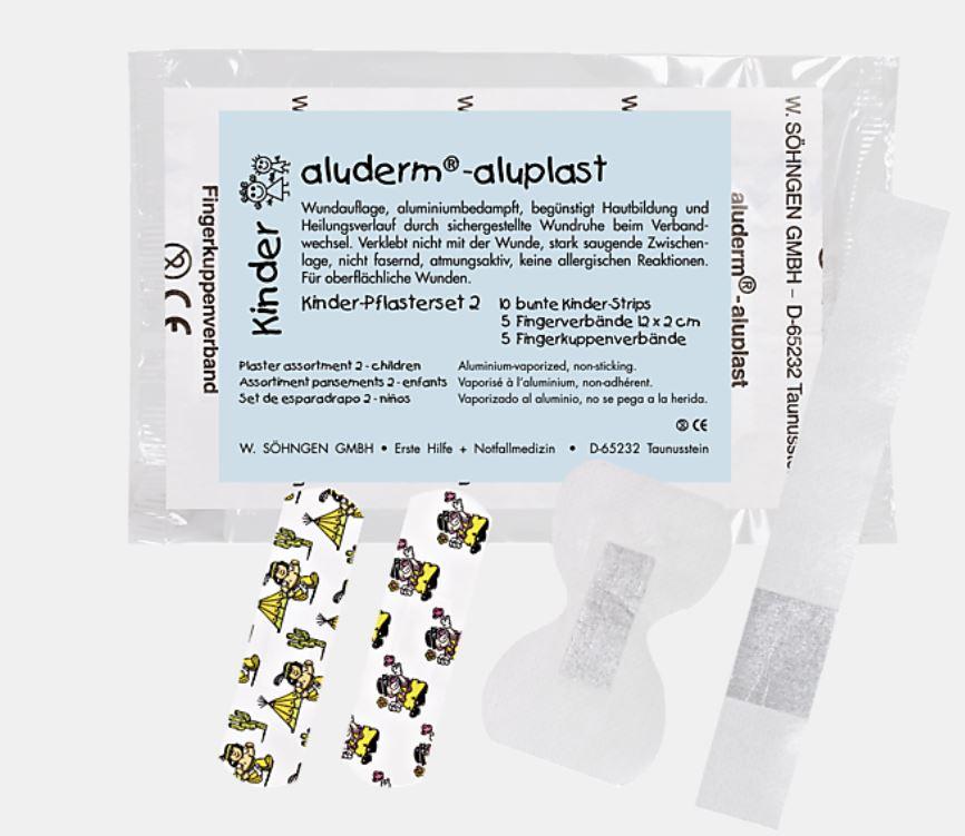 aluderm®-aluplast elastisch Kinder-Pflaster Set 20 Stück