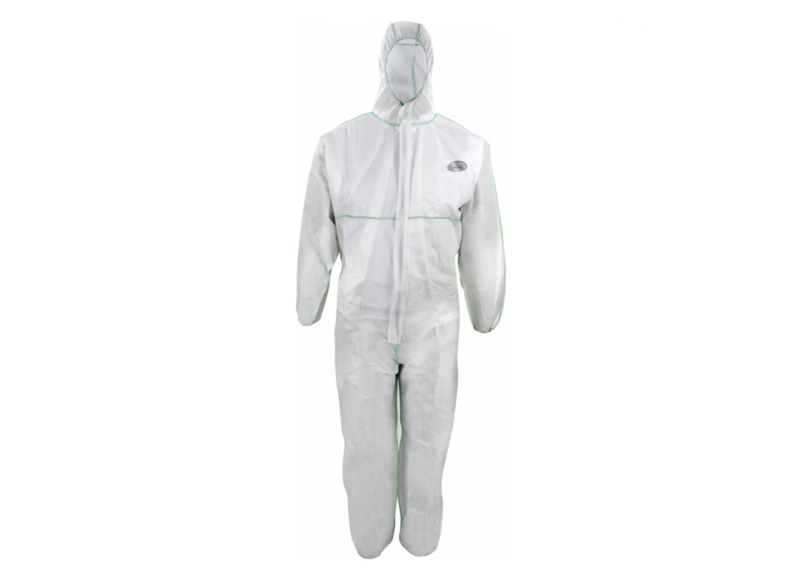 CoverTex® Chemieschutzoverall (SMMS) in weiß