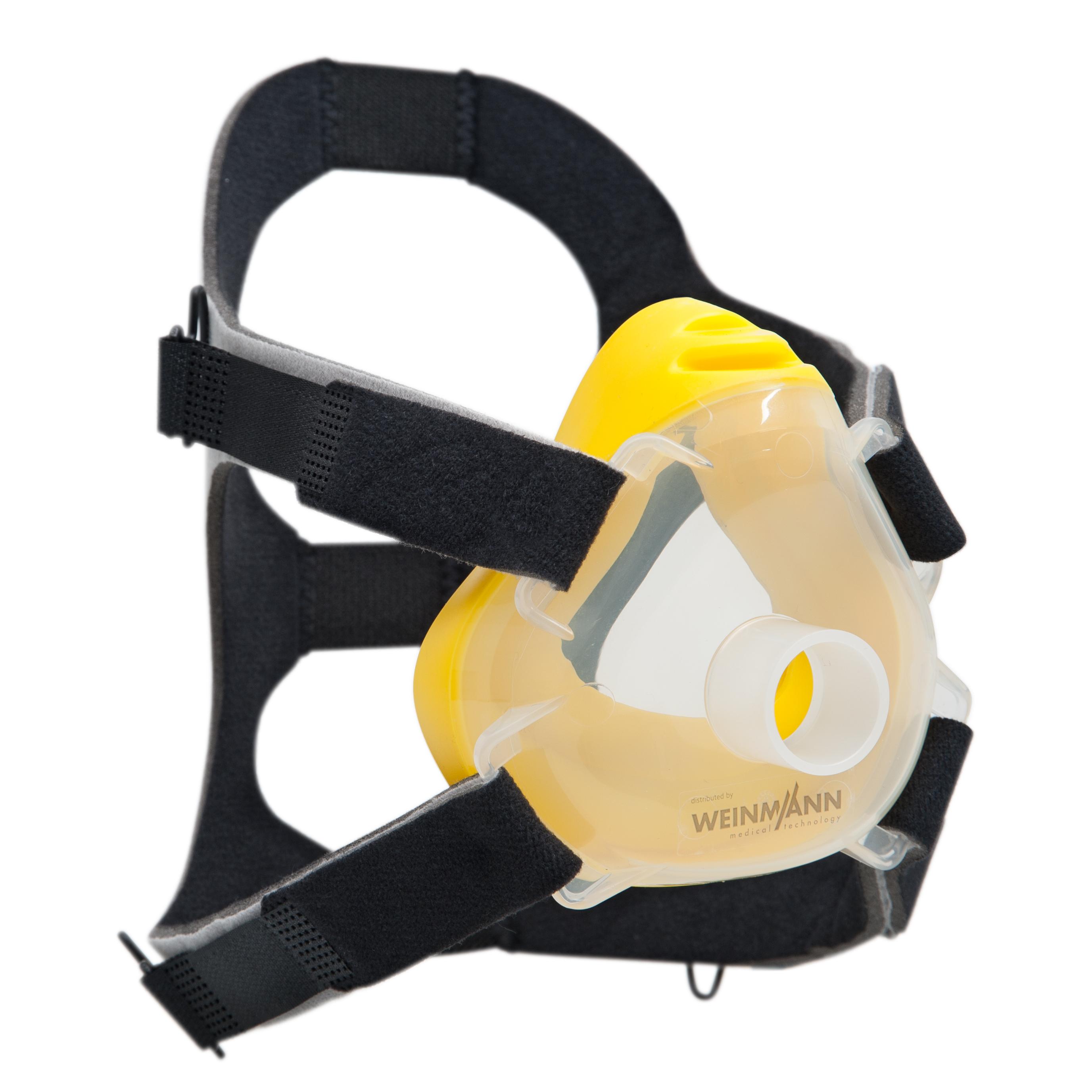 Premium CPAP-/NIV-Einwegmaske inkl. Kopfbänderung  Größe S (Kind), 10er-Set