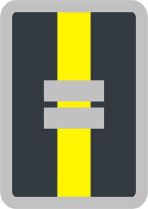 Dienststellungsabzeichen Gruppenführer I u K