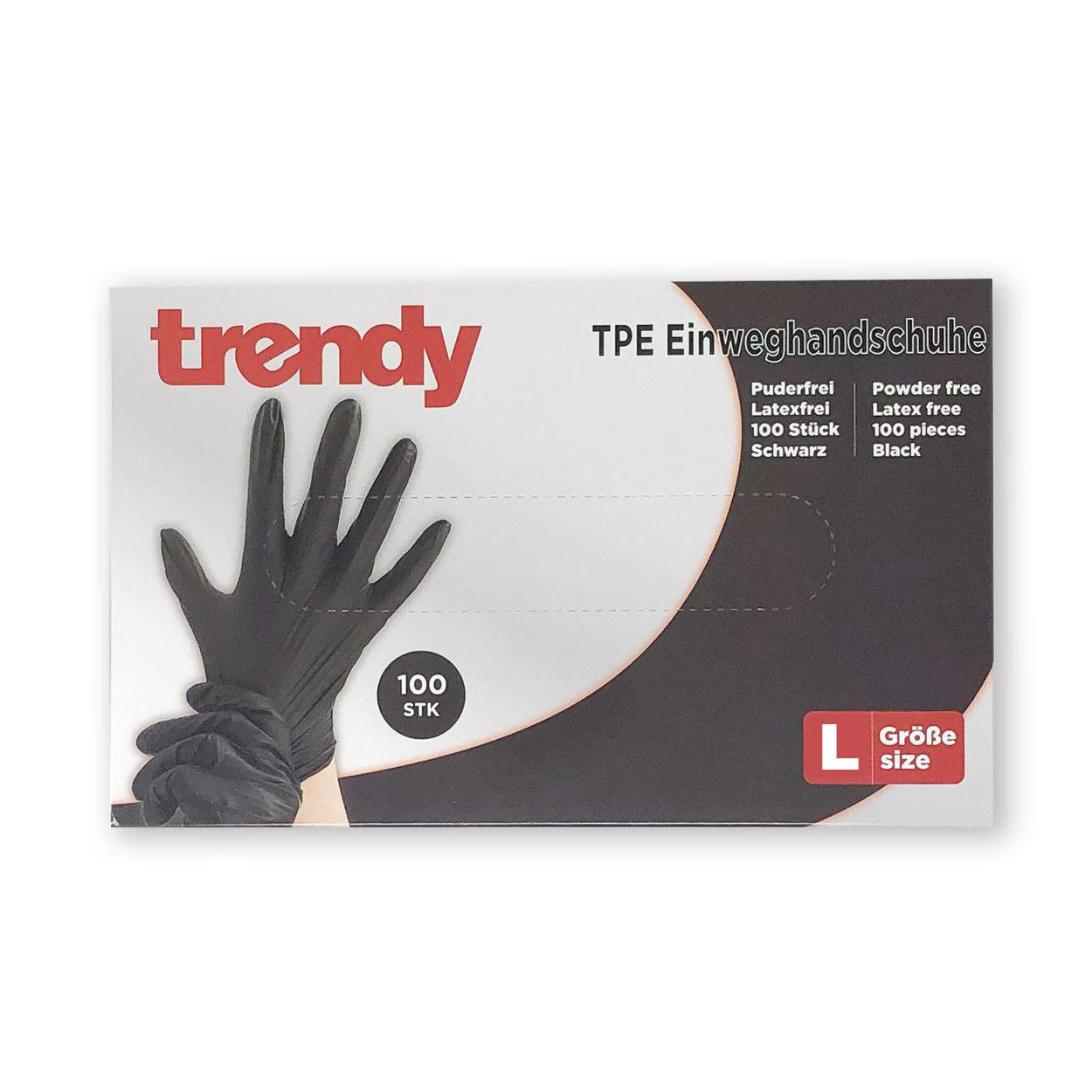 trendy Einweghandschuhe - Packung à 100 Stück
