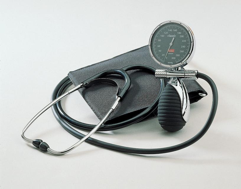 boso classic, Blutdruckmessgerät mit Klettenmanschette, Ø 60 mm
