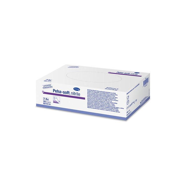 Peha-soft® nitrile powderfree, unsteril in L, 1 Faltschachtel à 100 Stück