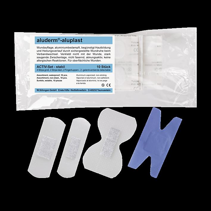 Activ-Set stabil aluderm®- aluplast Sortiment