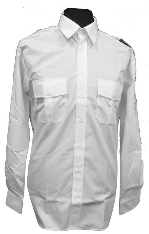 DRK Hemd 1/2 mit Schulterklappen in weiß