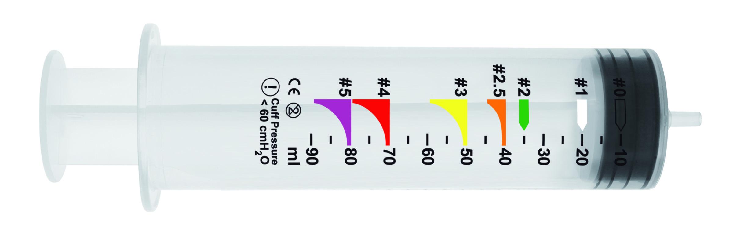 Blockerspritze für Larynxtuben, 100 ml