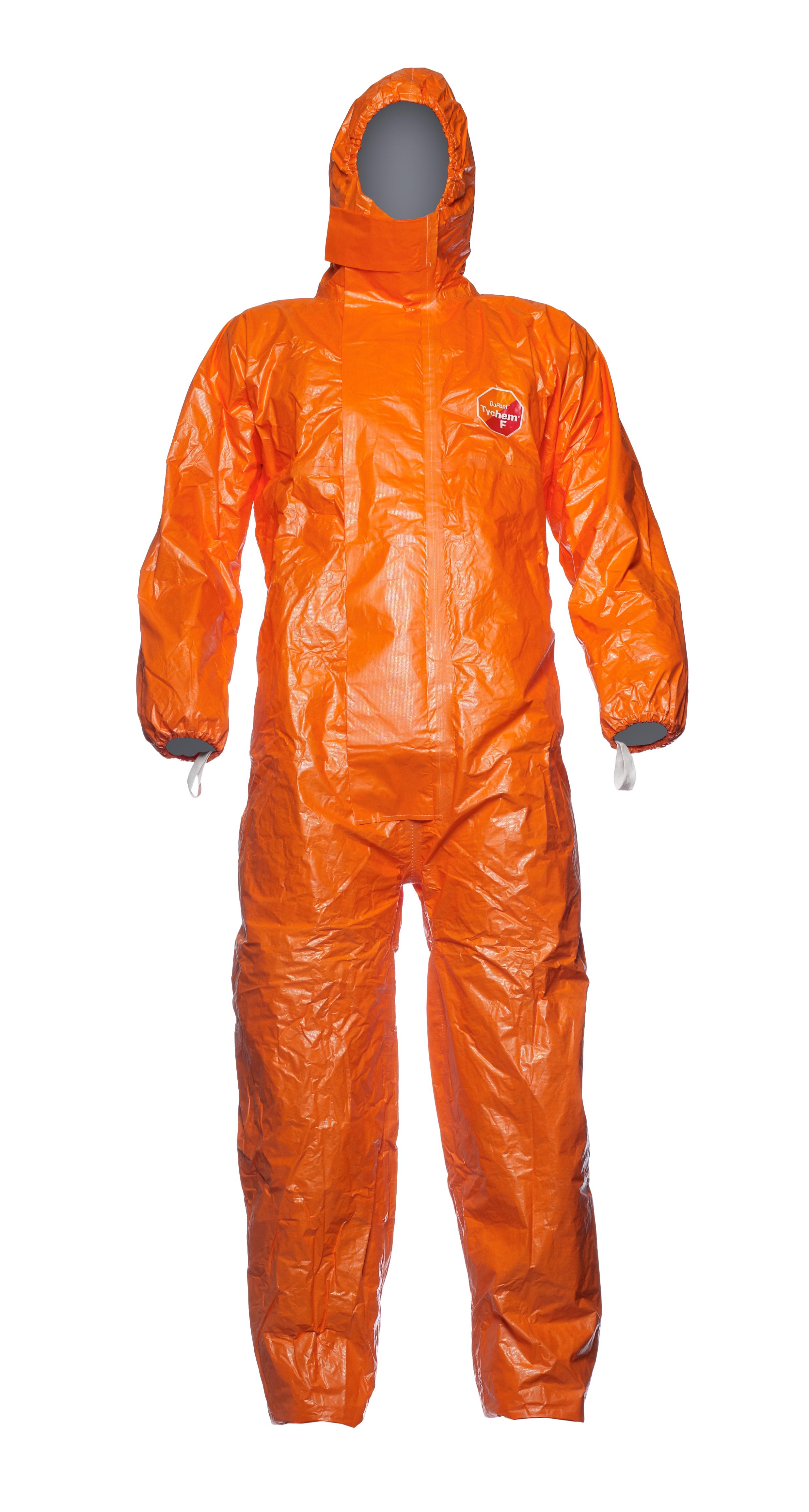Schutzoverall Tychem F orange Gr. XL