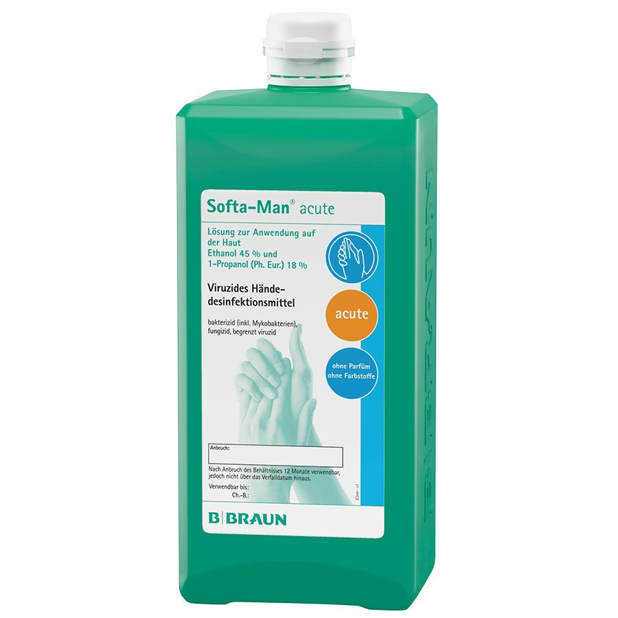 Softa-Man® acute, Spenderflasche, 1.000 ml