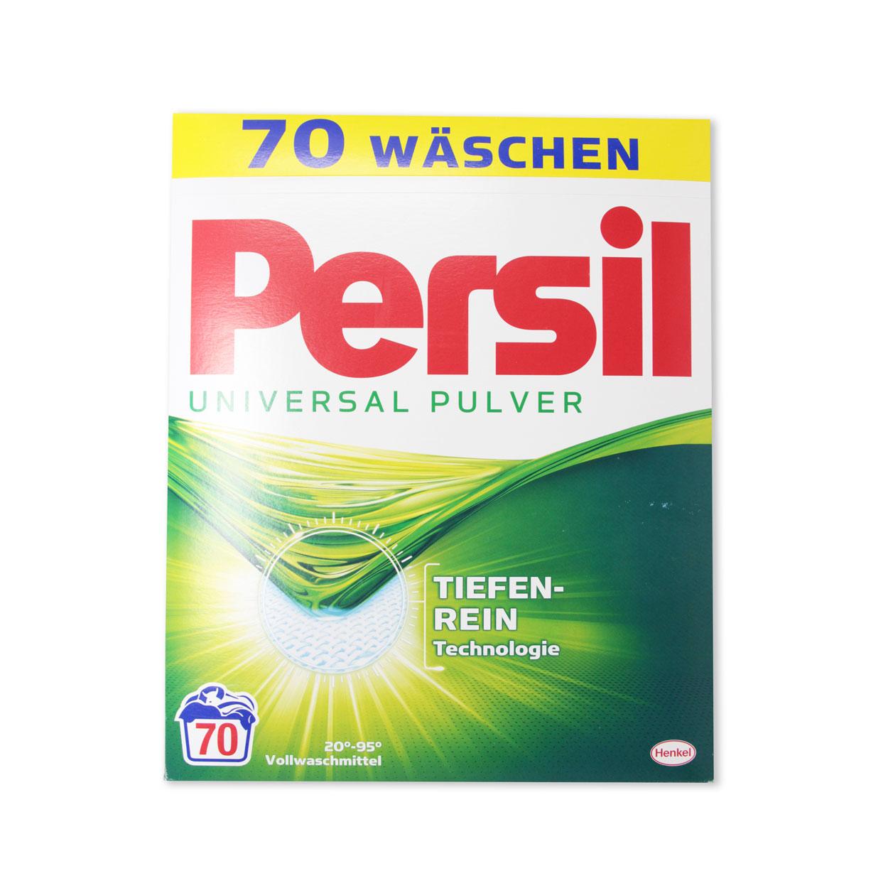 Persil Universal Pulver Vollwaschmittel 4,55 kg-Packung