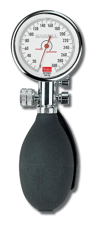 Boso manuell Blutdruckmessgerät Ø 60 mm, mit Klettenmanschette, Doppelschlauch