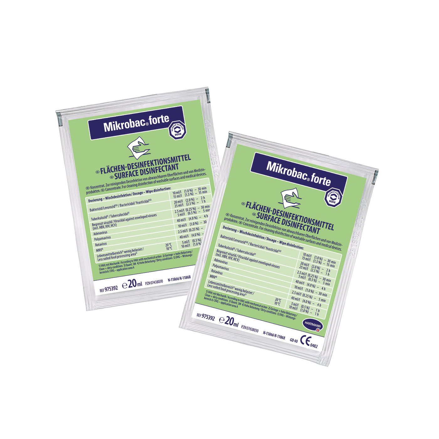 Mikrobac® forte, 250 Beutel á 20 ml
