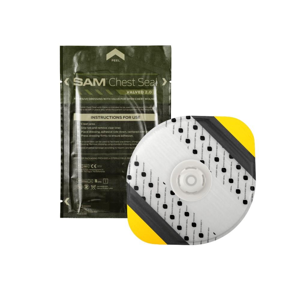 SAM® Chest Seal Thoraxpflaster mit Ventil