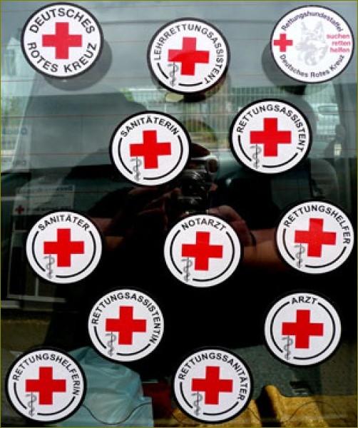 Auto-Haftplakette Sanitäterin