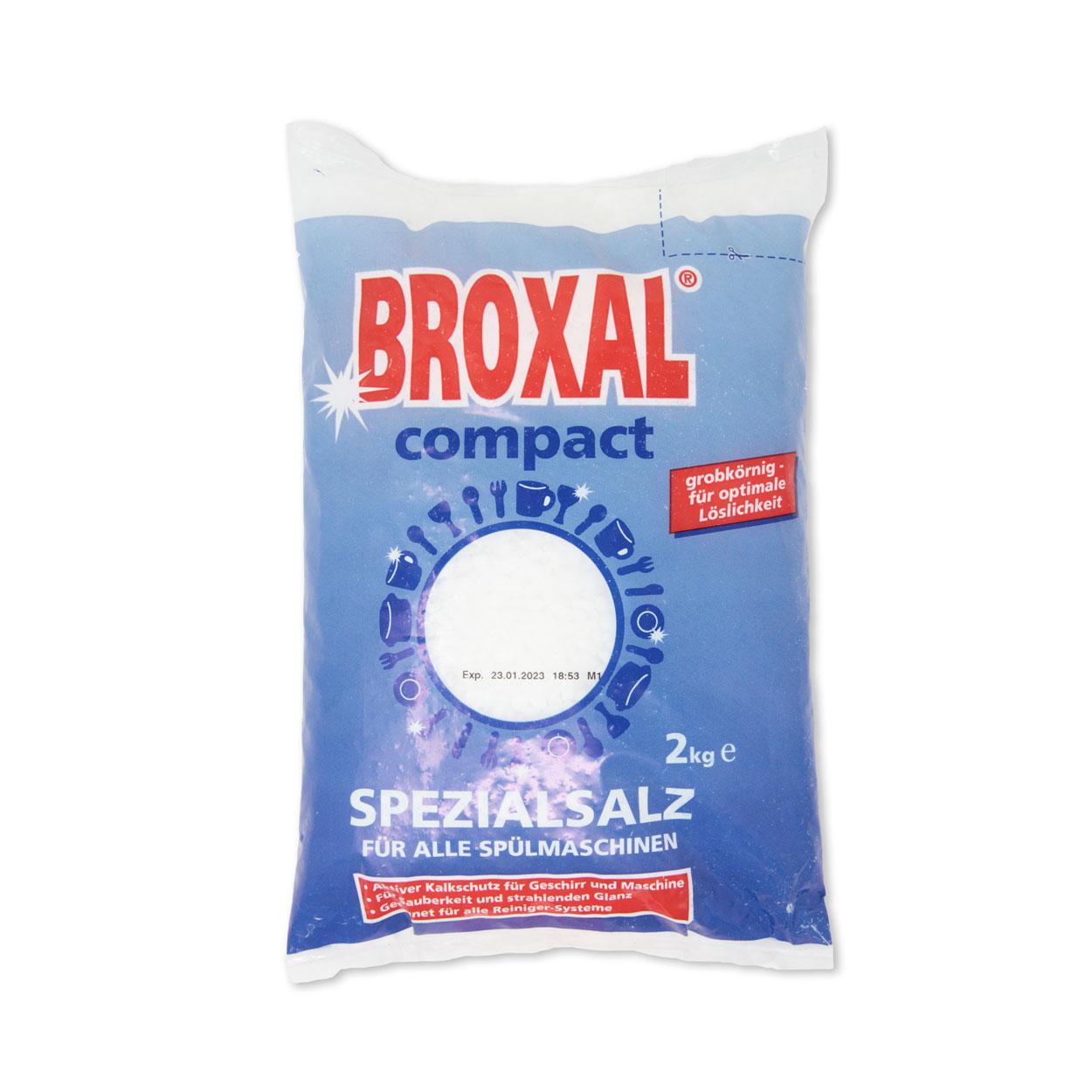 Broxal Regeneriersalz, grob 2 kg-Beutel