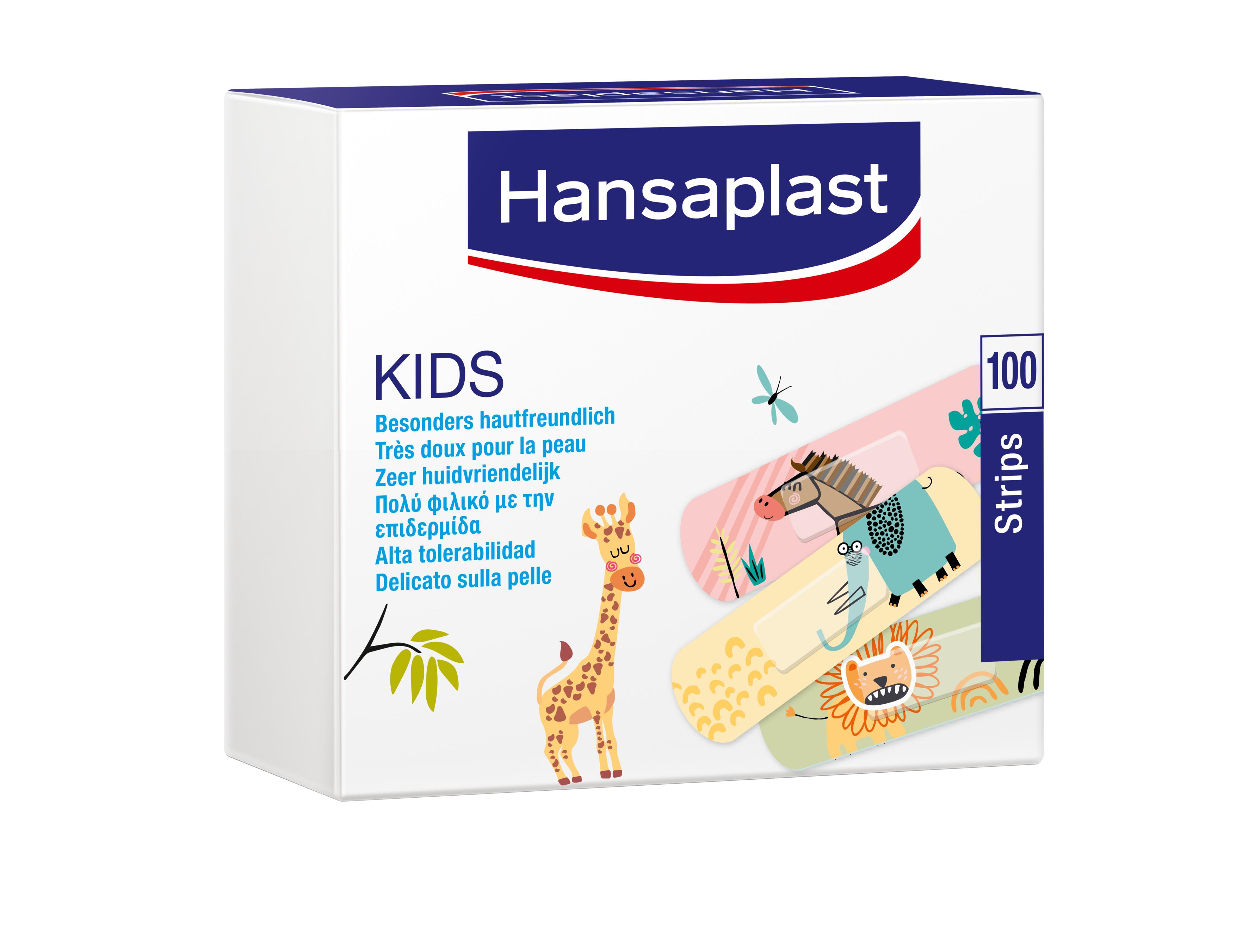 Hansaplast Kids 100er Packung, 1,9x7,2cm