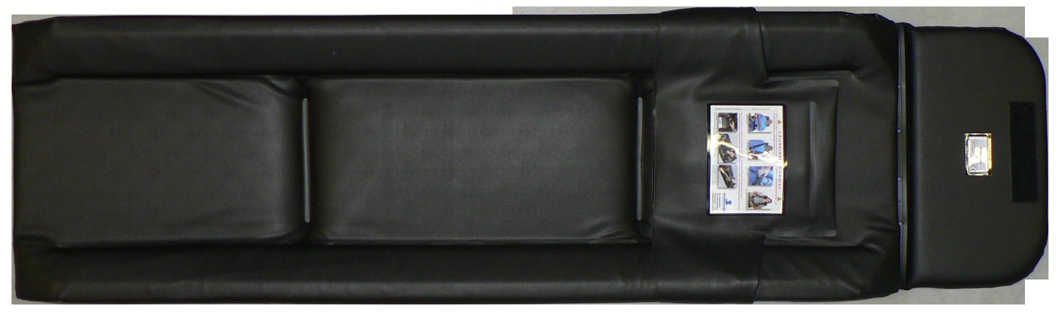 Tragenauflage schwarz für STOLLENWERK