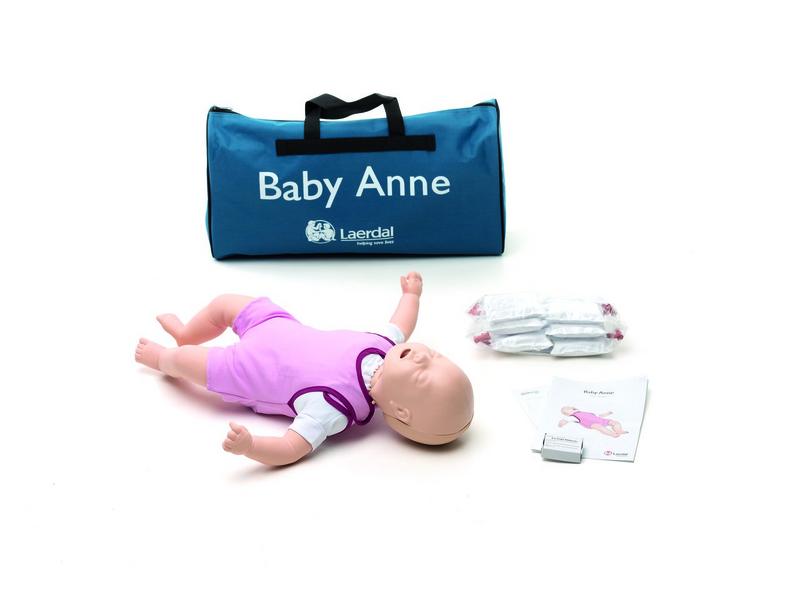 Baby Anne, komplett mit Tragetasche und Zubehör