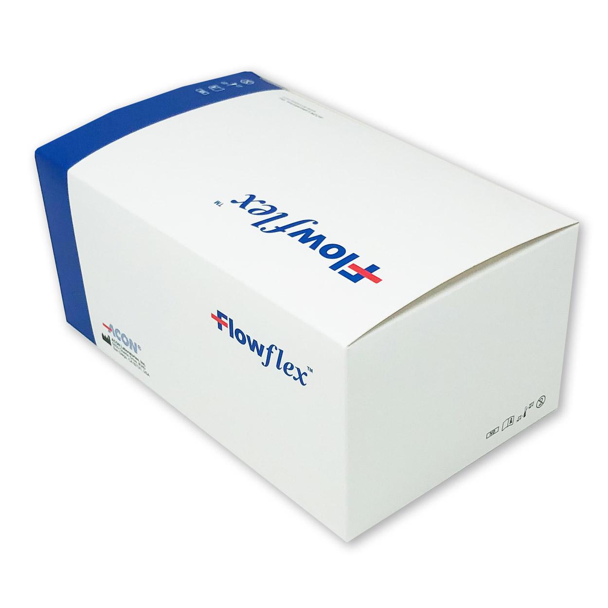 Flowflex Nasen-Abstrich-Test - Corona Antigen Schnelltest - Packung à 25 Stück