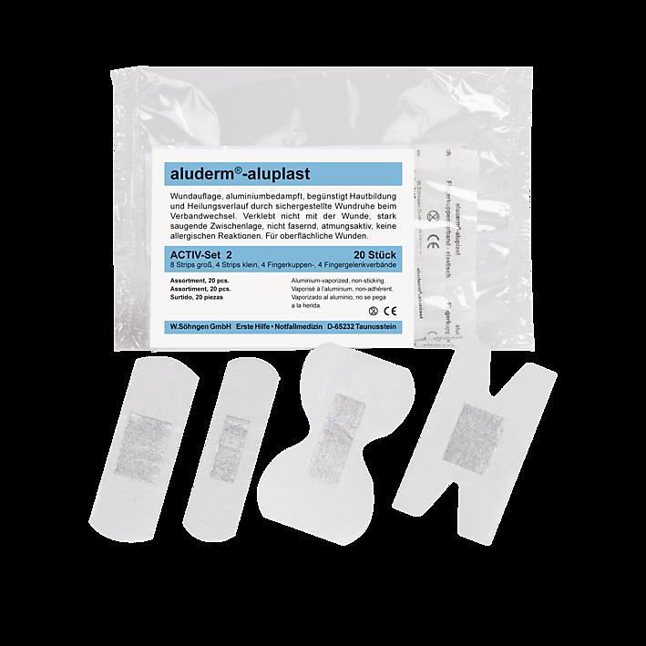 Activ-Set 2 aluderm®- aluplast Sortiment elastisch