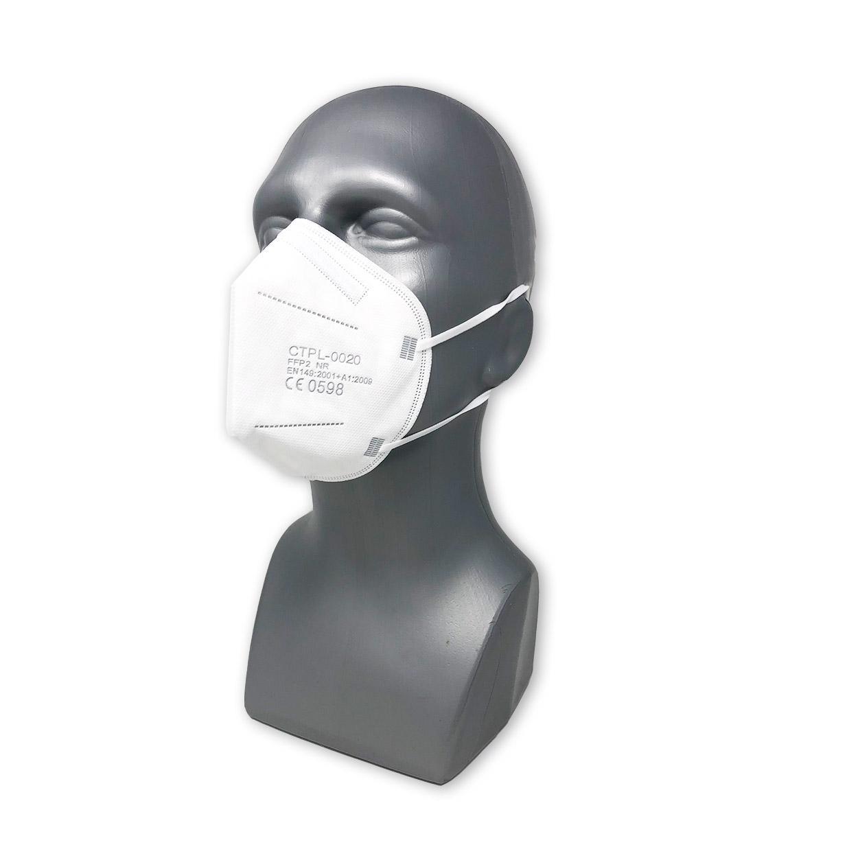 FFP2 Atemschutzmaske MediaSANEX CTPL - einzeln verpackt