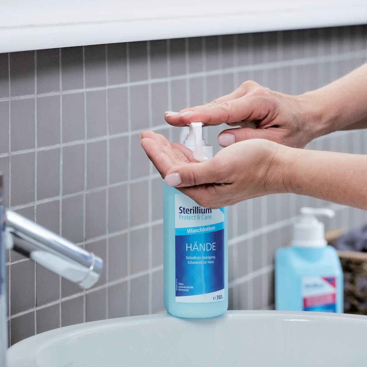 Sterillium® Protect & Care Waschlotion, 35 ml-Flasche